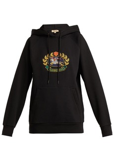 Burberry Archive logo-embroidered cotton-blend sweatshirt