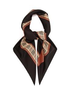 Burberry Archive-print silk scarf