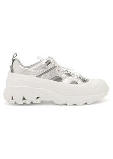 Burberry Arthur chunky-sole leather trainers