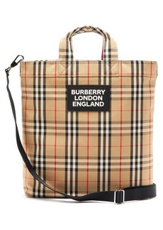 Burberry Artle Vintage-check tote bag