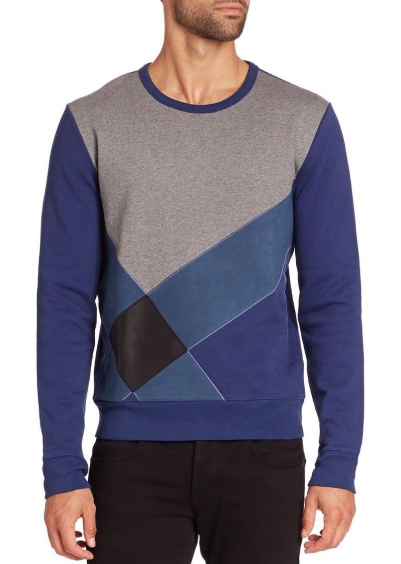 Burberry Astwood Colorblock Sweatshirt