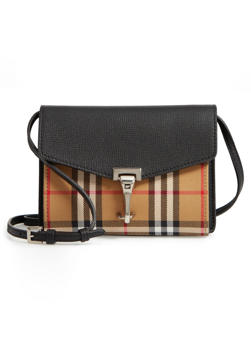 Burberry Burberry Baby Macken House Check Crossbody Bag  94ae2faf33a40