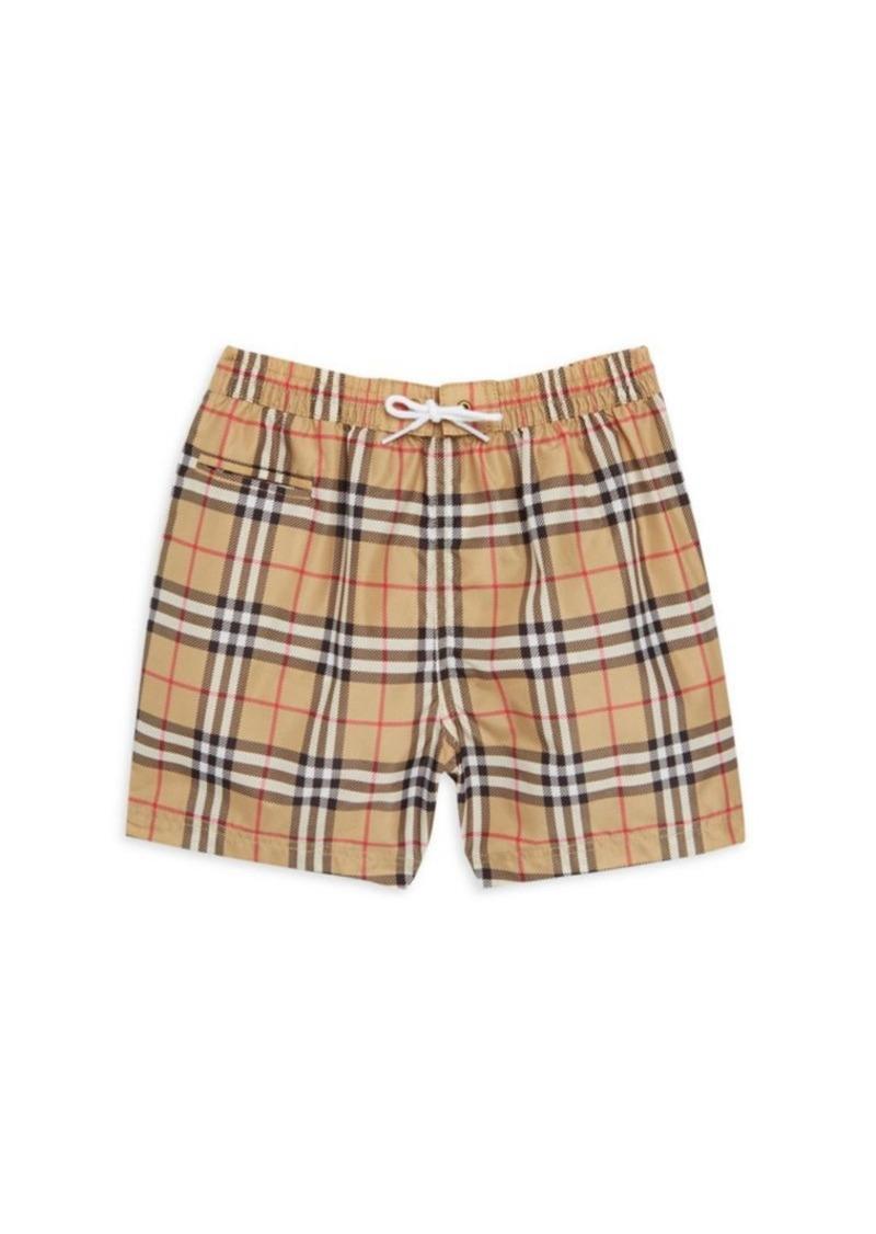 1eec016ef0 Burberry Baby's & Toddler's Galvin Check Swim Trunks   Swimwear