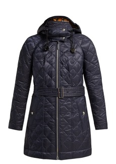 Burberry Baughton diamond-quilted hooded jacket