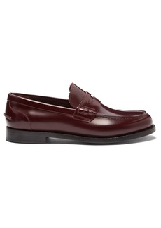 Burberry Bedmont leather penny loafers