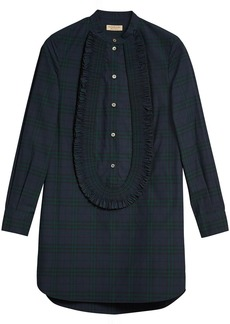 Burberry bib front tunic - Blue