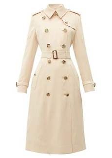 Burberry Bostcastle double-breasted silk trench coat