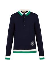 Burberry Brandon merino-wool polo shirt