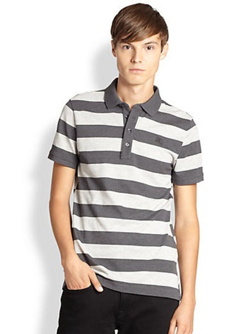 Burberry Burberry Brit Levinson Stripe Polo Shirt Casual
