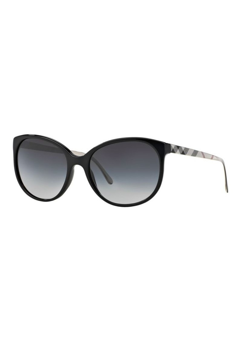 c69c34573f0 On Sale today! Burberry Burberry Brit Spark Round 55MM Sunglasses
