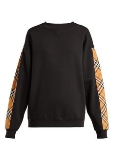 Burberry Bronx cotton-blend sweatshirt