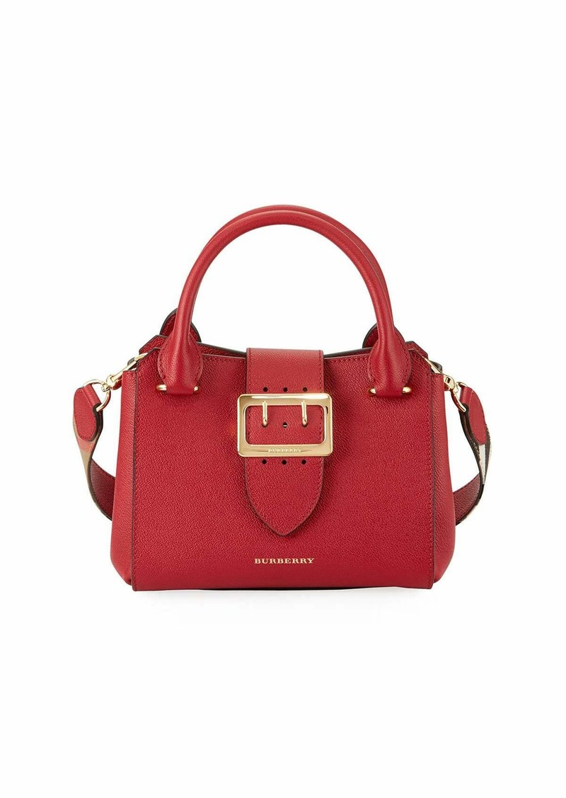 0127d5f8d9 Burberry Buckle Small Leather Tote Bag | Handbags