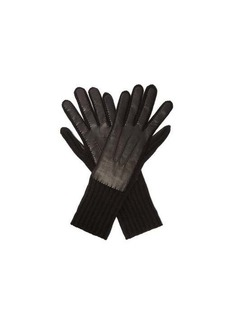 Burberry Cashmere and leather gloves