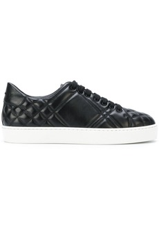 Burberry Check-quilted sneakers - Black