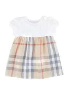 Burberry Cherrylina Cap-Sleeve Play Dress