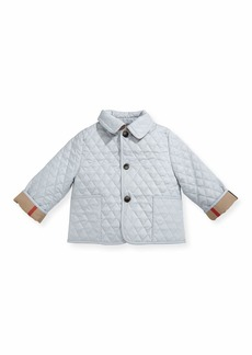 Burberry Colin Quilted Collared Jacket