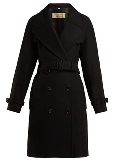 Burberry Cranston wool-blend trench coat