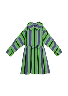 Burberry Crissida Long-Sleeve Striped Dress  Size 4-14