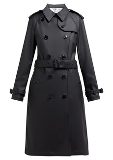 Burberry Curradine double-breasted coated trench coat