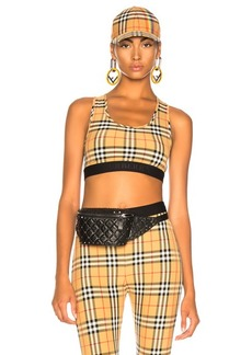 Burberry Dalby Bra Top