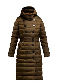 624e742799a3e Burberry Dalmerton single-breasted quilted coat