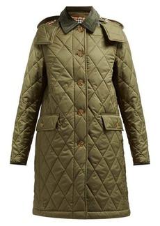 Burberry Dareham diamond-quilted jacket