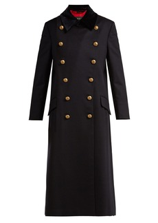 Burberry Double-breasted wool military coat