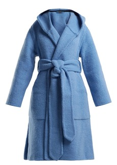 Burberry Dunbridge alpaca and wool-blend coat