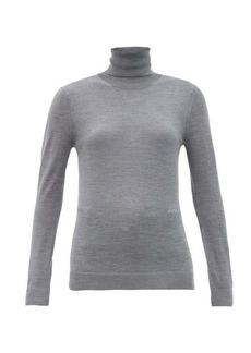 Burberry Elaina roll-neck wool-blend sweater