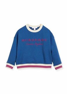 Burberry Eli Logo Sweatshirt
