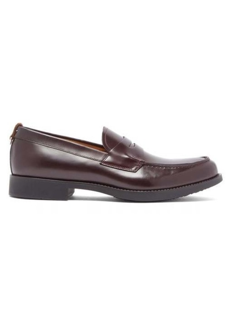 Burberry Emile leather penny loafers
