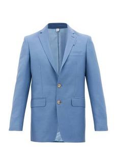 Burberry English Fit mohair-blend suit jacket