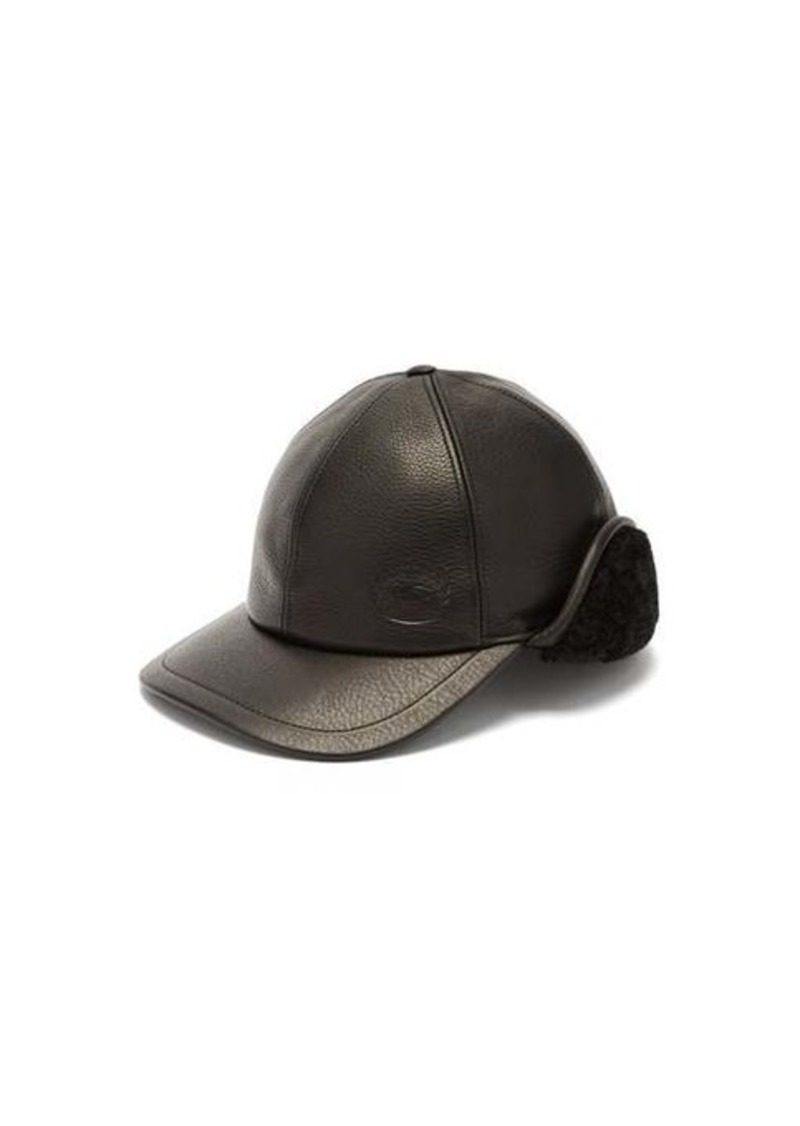 Burberry Explorer leather cap
