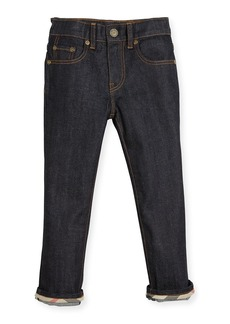 Burberry Faded Slim-Fit Stretch Jeans