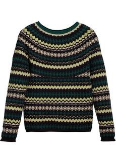 Burberry fair isle sweater
