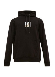 Burberry Fawn-print cotton-jersey hooded sweatshirt