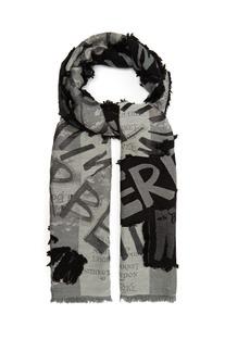 Burberry Fil coupé scarf