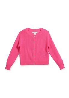 Burberry Flissey Cashmere Knit Cardigan