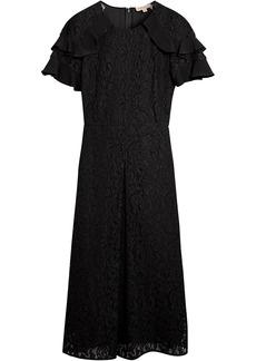 Burberry floral lace dress - Black