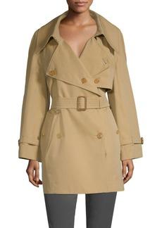 Burberry Fortingall Gabardine Trench Coat