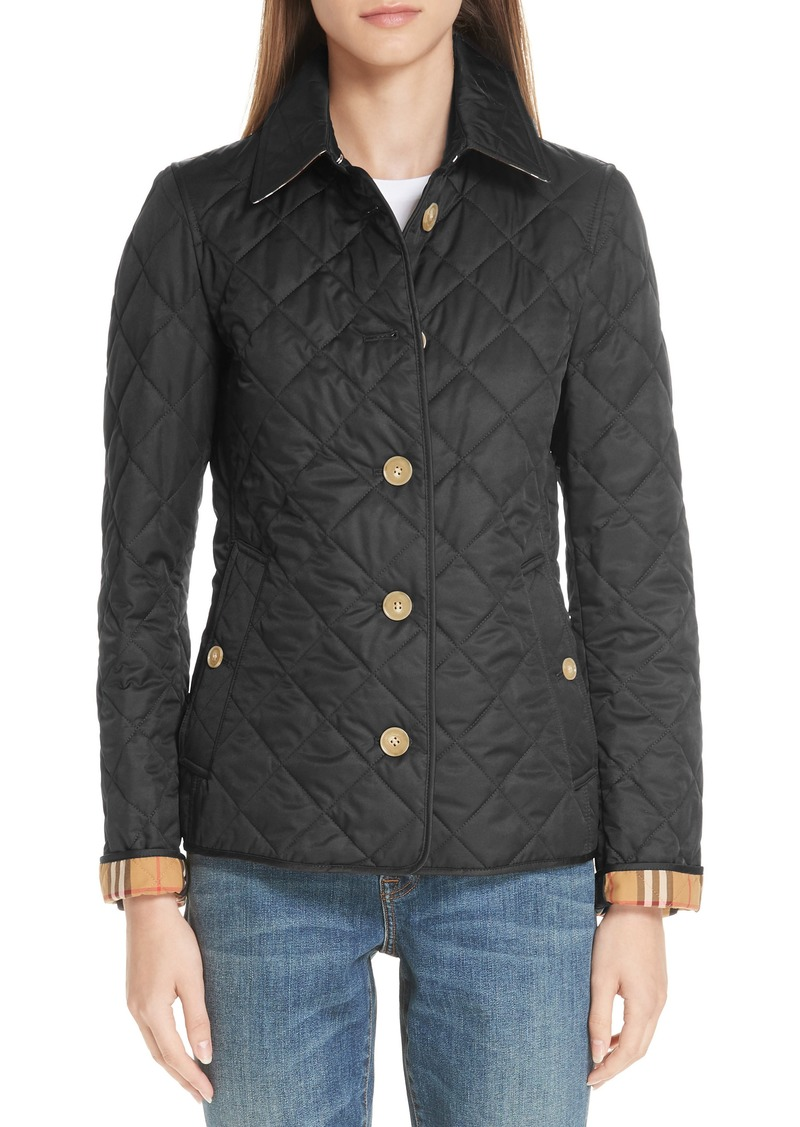 eb6b435bbd8 Burberry Burberry Frankby 18 Quilted Jacket