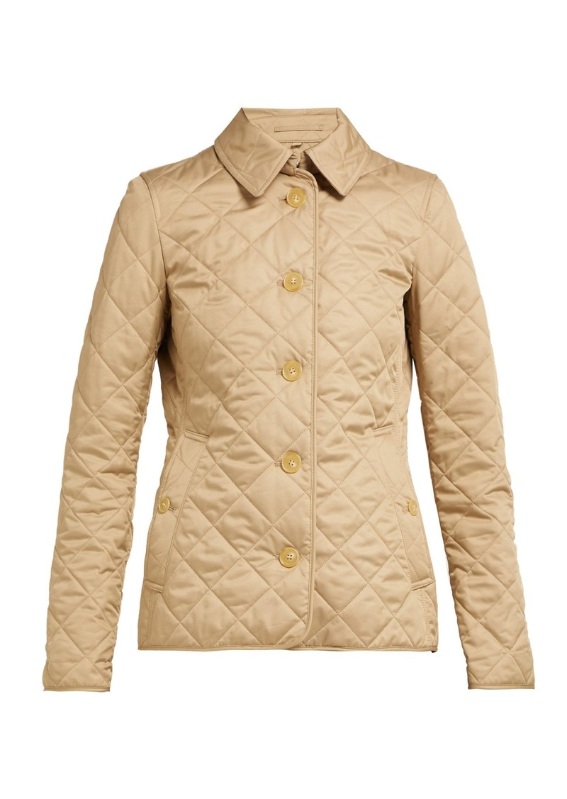 a68121f5754 Burberry Burberry Frankby quilted-gabardine jacket