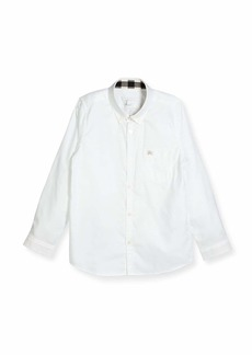 Burberry Fred Mini Long-Sleeve Shirt