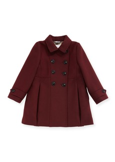 Burberry Frieda Double-Breasted Wool-Blend Coat