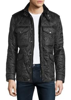 Burberry Garrington Quilted Zip-Up Jacket
