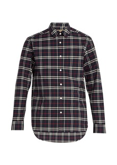 Burberry George checked cotton shirt