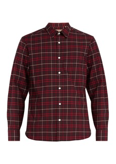 Burberry George Vintage-check cotton-blend shirt
