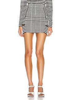 Burberry Gingham Mini Skirt