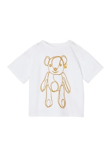 Burberry Girl's Chain Bear Graphic Tee  Size 6M-2