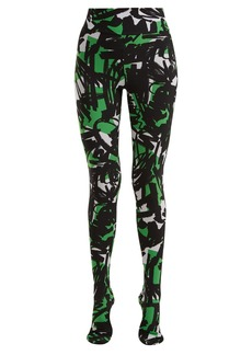 Burberry Graffiti-print leggings